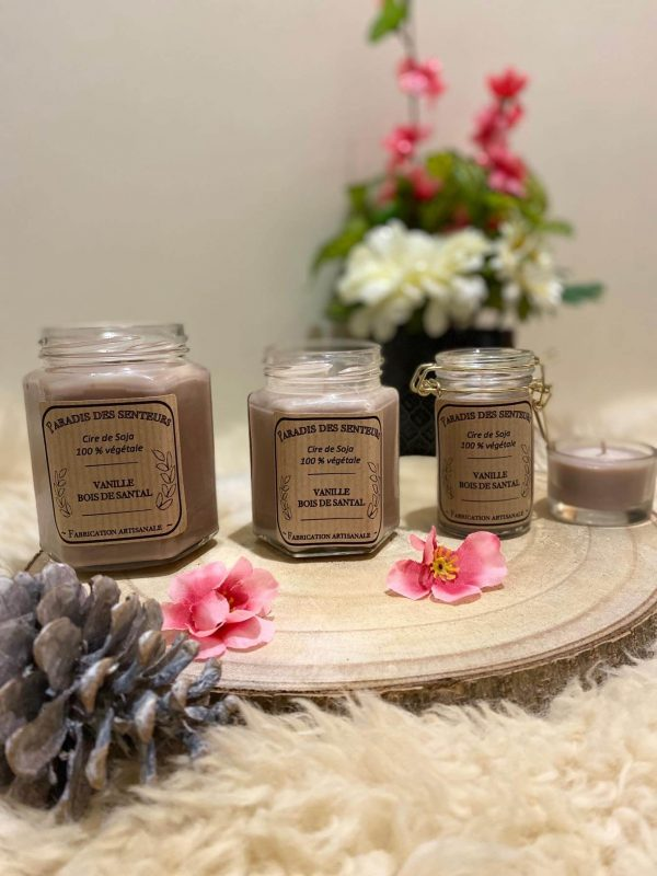 Vanille - Bois de santal